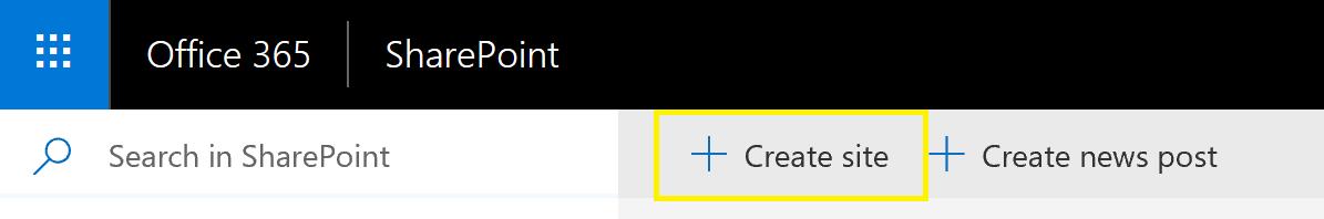 Create site