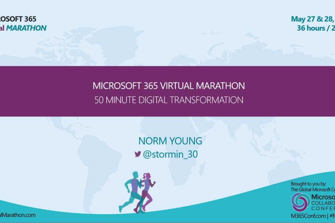 Microsoft 365 VirtualMarathon