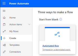 New automated Flow
