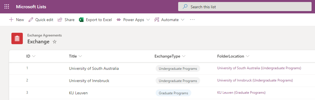 Use Power Automate to create a folder in SharePoint with link back to MicrosoftLists