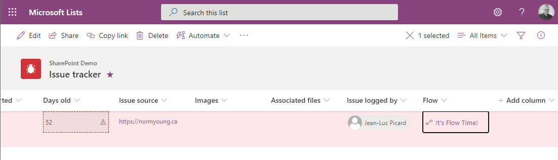 Use Power Automate to move Microsoft Lists items to anotherlist