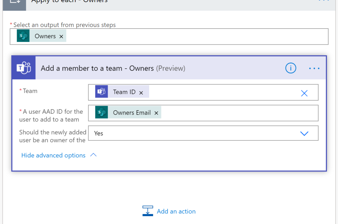 Use Microsoft Lists and Power Automate to provision Microsoft Teams
