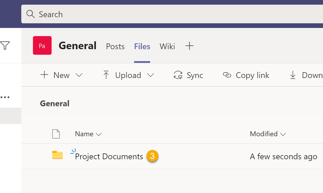 Use MS Lists and Power Automate to copy files to MS Teams